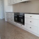 Custom Crete Polished Concrete - Kitchen