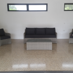 Custom Crete Polished Concrete - Pool Room